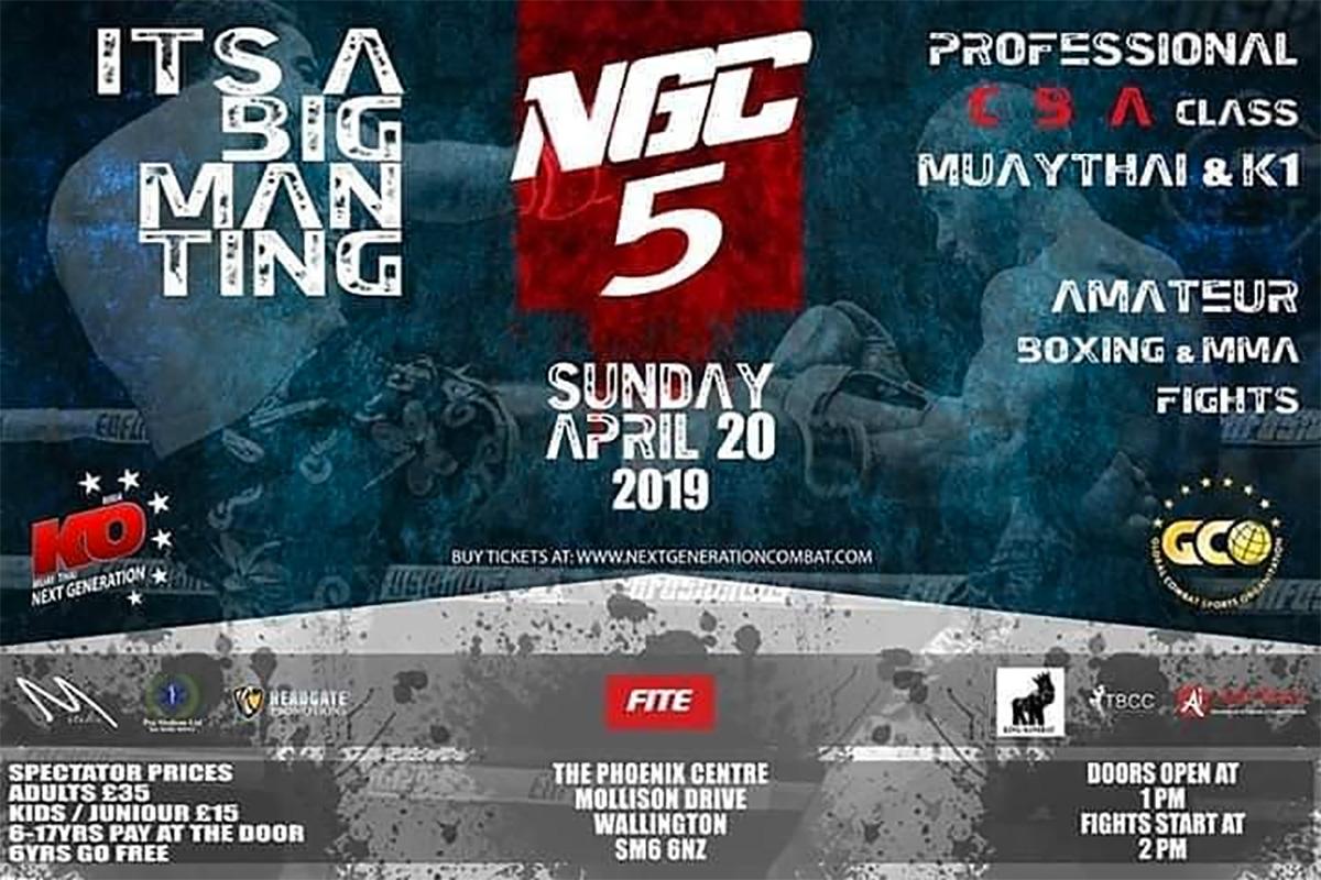 NGC-Showdown-5-Flyer